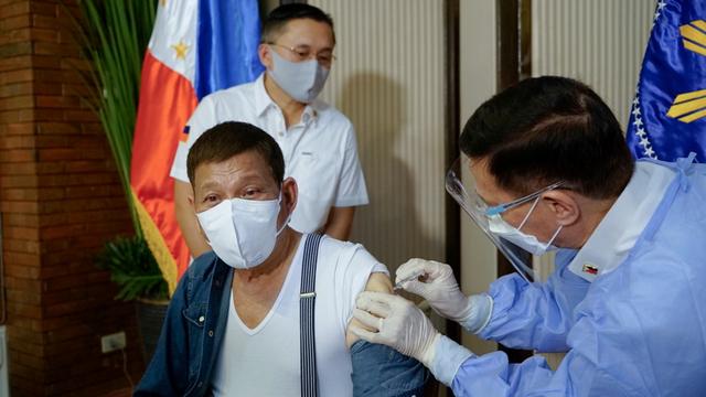 Duterte Ancam Penjarakan Warga Filipina yang Tak Mau Divaksin (453404)