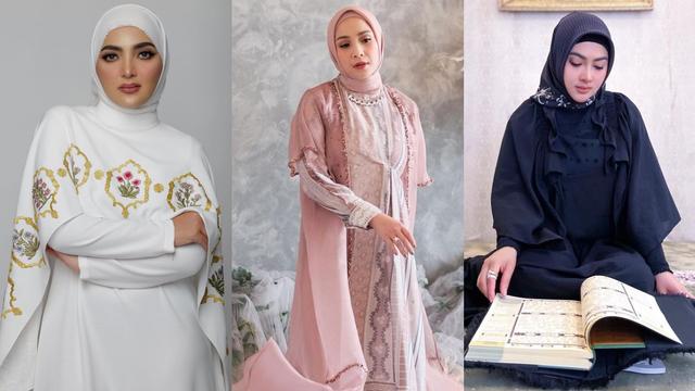 Intip Gaya 7 Selebriti Tampil Pakai Hijab di Bulan Ramadhan (83957)