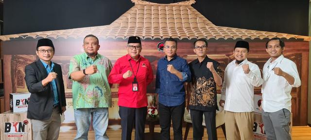 Sejumlah Sekjen Parpol Koalisi Jokowi Berkumpul di DPP PDIP, Bahas Apa? (206451)