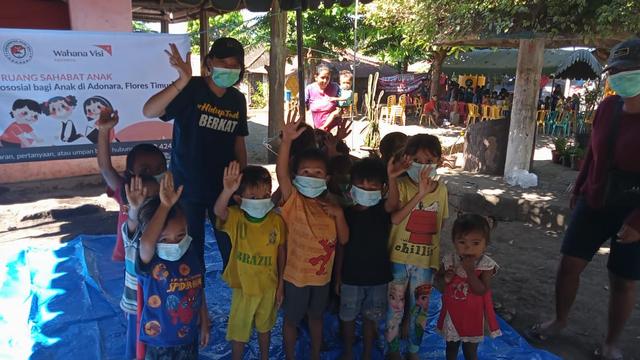 Pemulihan Psikologis untuk Anak-anak Paska Bencana Siklon Tropis Seroja di NTT (138091)