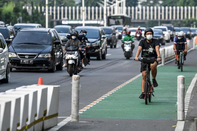 Anies Bicara Tujuan Utama Jalur Sepeda Dibangun: Untuk Transportasi, Bukan Sport (48833)