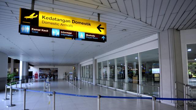 Larangan Mudik Bikin Jumlah Penumpang di Bandara Angkasa Pura I Terjun Bebas (745637)