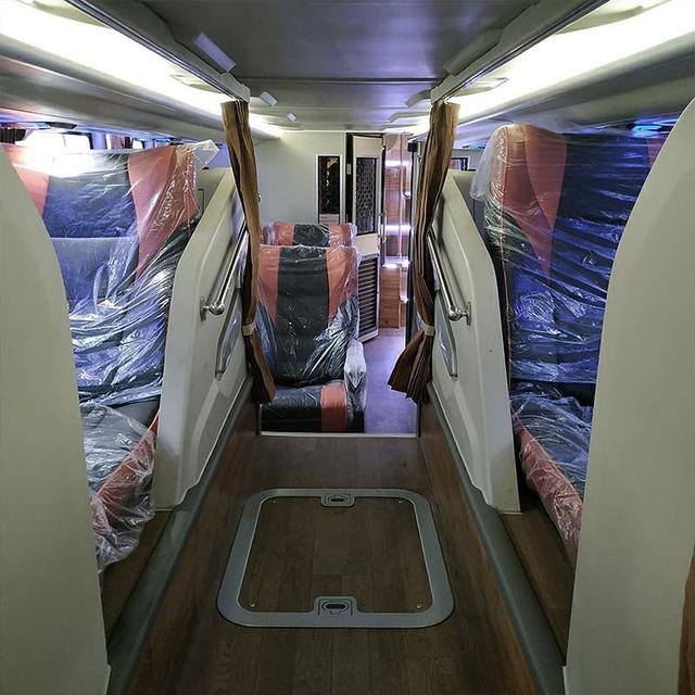 Bus Tingkat Rosalia Indah Baru Pakai Sasis Scania, Apa Istimewanya? (24276)