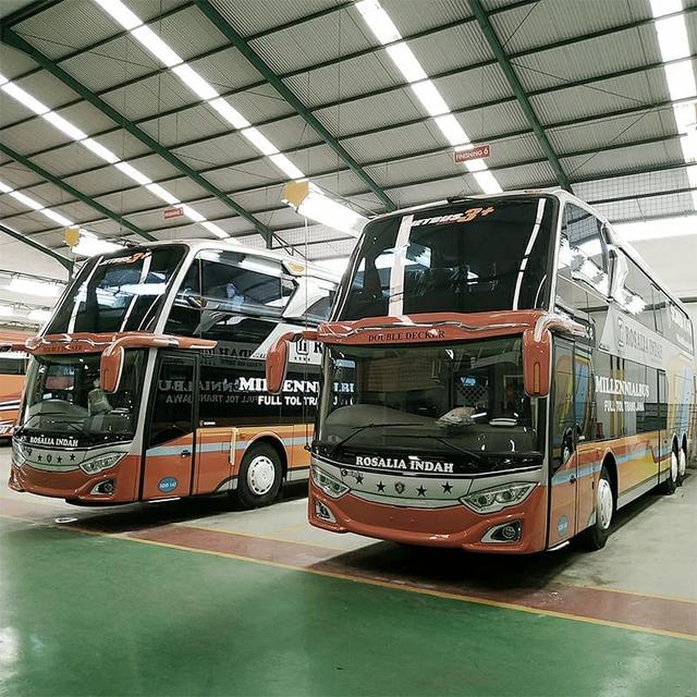Bus Tingkat Rosalia Indah Baru Pakai Sasis Scania, Apa Istimewanya? (24273)