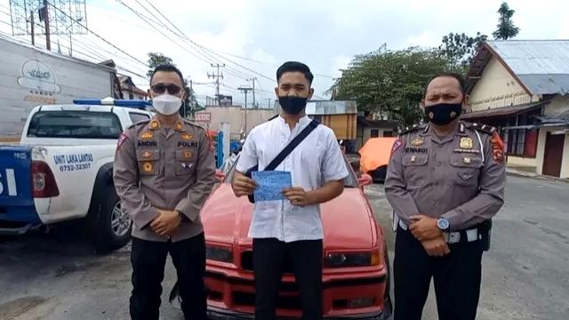 Viral Aksi Mobil Drifting di Bukittinggi, Pelaku Diamankan Polisi (250691)