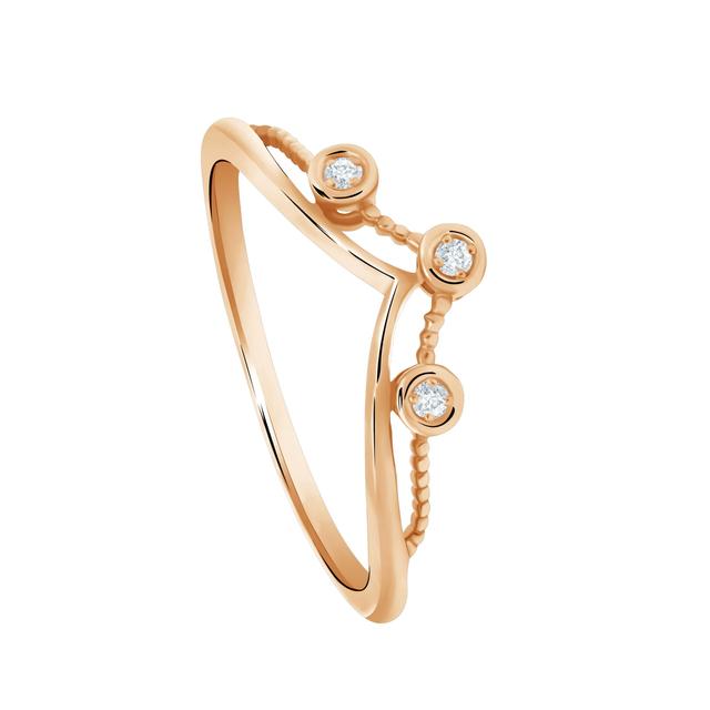 Perhiasan Emas dan Berlian Elegan yang Terjangkau dari Moela Collection (61346)