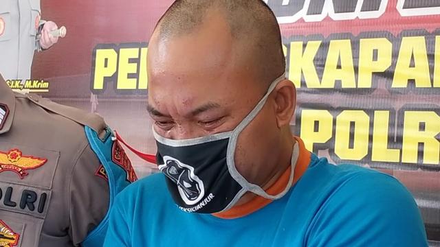 Tampang Pria di Cianjur yang Bakar Hidup-hidup Pacarnya hingga Tewas (161866)