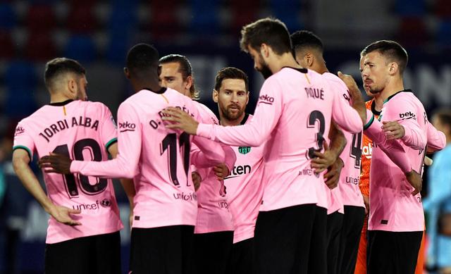 Levante vs Barcelona: Blaugrana Imbang, Gagal Lagi Ambil Alih Puncak Klasemen (9116)