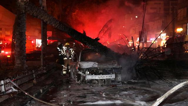 Foto: Dampak Serangan 130 Roket Militan Palestina ke Israel (72157)