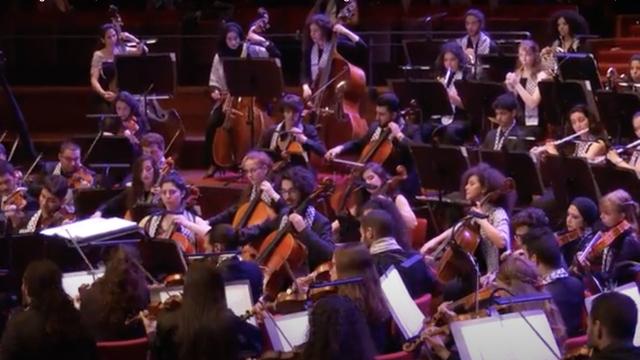 Maryam Afifi yang Ditangkap Israel Pemain Kontrabas Palestine Youth Orchestra (315916)