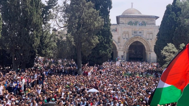 Pasukan Israel Serang Warga Palestina di Jumat Terakhir Ramadan (213518)