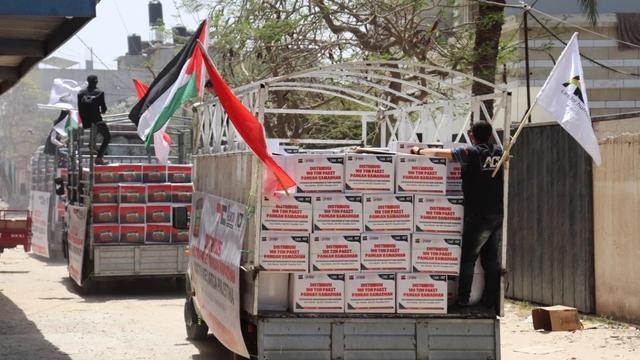 100 Ton Paket Pangan Jaga Warga Palestina dari Kelaparan hingga Akhir Ramadan (189379)