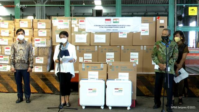 Bantu Penanganan COVID-19, Indonesia Kirim 200 Oksigen Konsentrator ke India (114009)