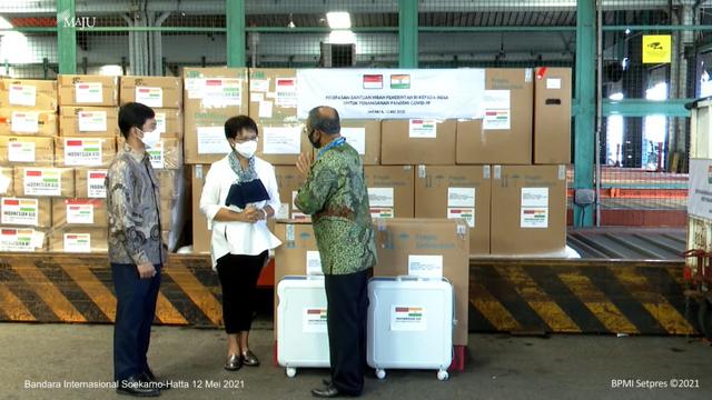 Menlu Retno Ingat Jasa India saat Bantu Indonesia di Awal Pandemi COVID-19 (99742)