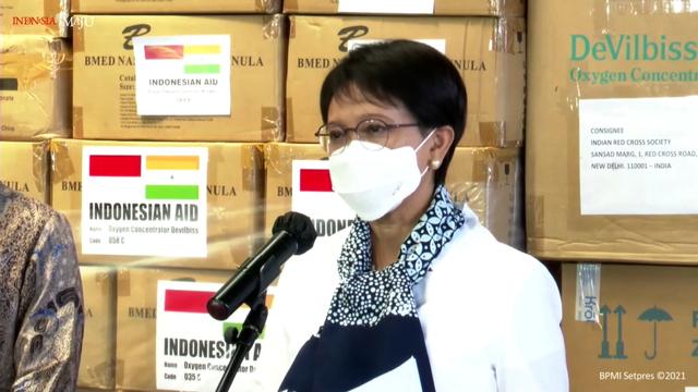 Bantu Penanganan COVID-19, Indonesia Kirim 200 Oksigen Konsentrator ke India (114008)