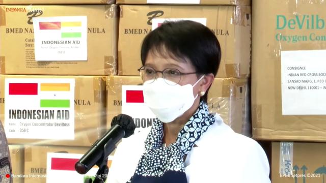 Menlu Retno Ingat Jasa India saat Bantu Indonesia di Awal Pandemi COVID-19 (99741)