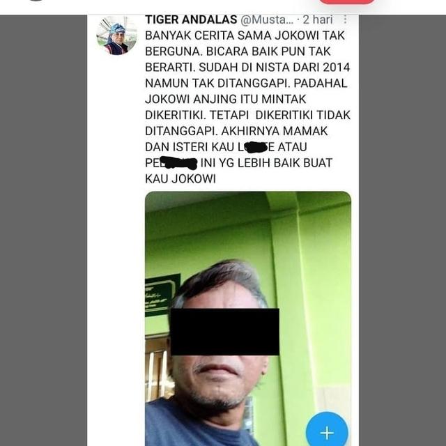 Pria di Kepri 3 Kali Ditangkap karena Hina Presiden Jokowi dan Istri (206722)