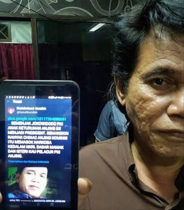 Pria di Kepri 3 Kali Ditangkap karena Hina Presiden Jokowi dan Istri (206724)