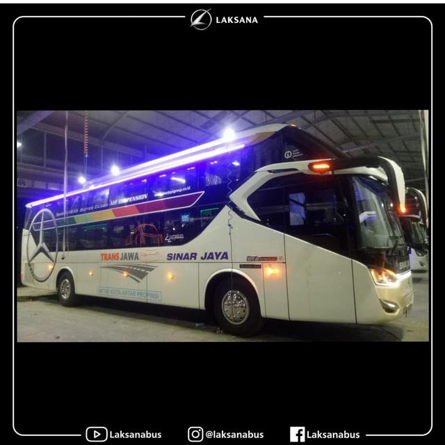 Intip 6 Bus 'Rebahan' Baru Milik PO Sinar Jaya yang Pakai Sasis Mercedes-Benz (177390)