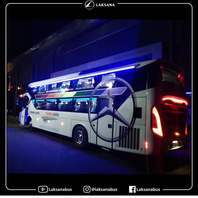 Intip 6 Bus 'Rebahan' Baru Milik PO Sinar Jaya yang Pakai Sasis Mercedes-Benz (177389)
