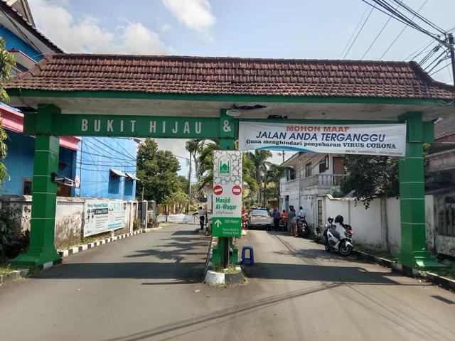 17 Warga Terpapar Corona, Masjid Al Waqar di Malang Ditutup (86379)