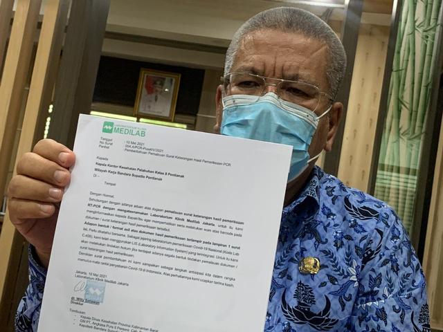 Satgas COVID-19 Investigasi Dugaan Penumpang Pesawat Pakai Surat PCR Palsu (290805)