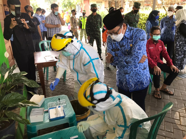 Positif COVID-19 di Perumahan Bukit Hijau dan Permata Hijau Malang Jadi 21 Kasus (76893)