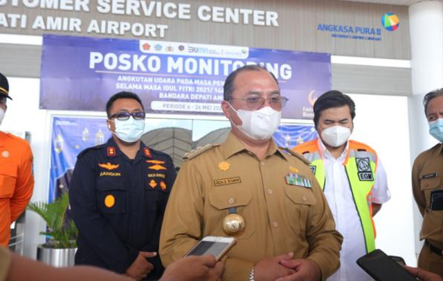 Keluar Masuk Bangka Belitung, Penumpang Harus Tes Swab Antigen (137425)