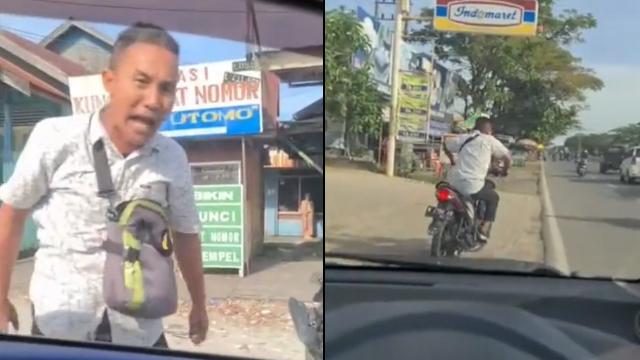 Viral Pemotor Amuk dan Bentak-Bentak Wanita Pengemudi Mobil, Endingnya Kocak (349075)