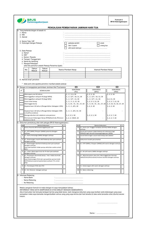Klaim JHT BPJS Ketenagakerjaan Lebih Mudah Melalui Lapak Asik (551882)