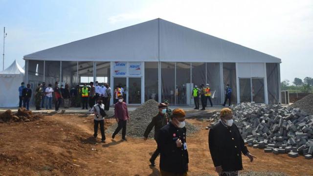 Terminal Penumpang Gunakan Tenda, Bandara Purbalingga Diklaim Siap Operasi Juni  (250861)