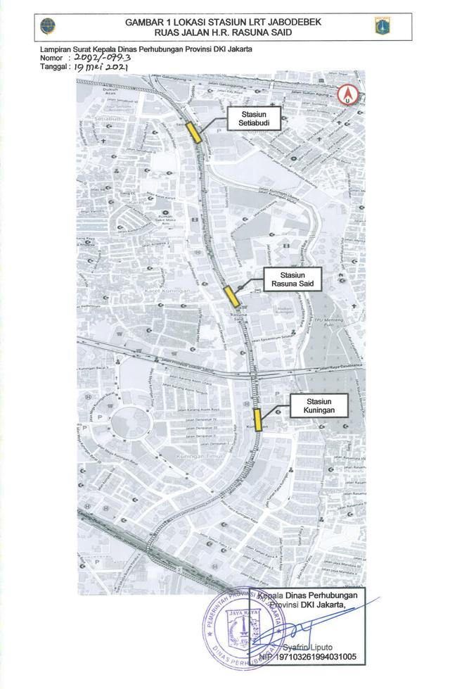 Ada Proyek Galian dan JPO Stasiun LRT di Jaksel, Simak Rekayasa Lalu Lintasnya (96429)