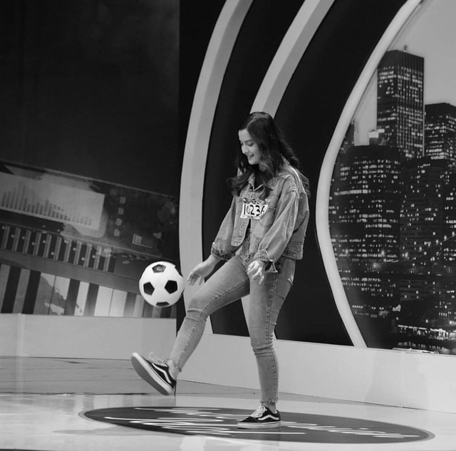 5 Pesona Femila Sinukaban, Jebolan Indonesian Idol, saat Main Sepak Bola (7848)