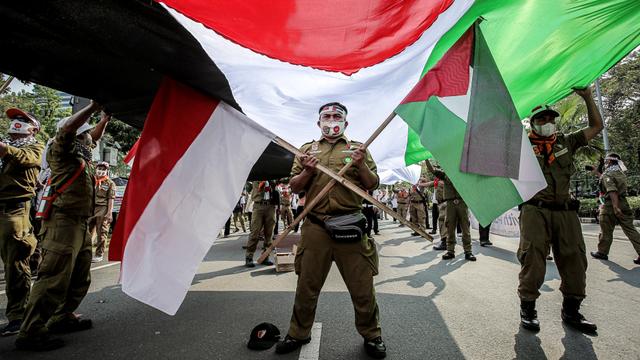 Menko PMK Imbau Masyarakat Tak Berlebihan Sikapi Isu Palestina (12076)