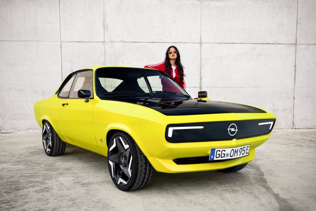 Disuntik Listrik, Opel Manta Kembali dengan Gaya Klasik (40274)