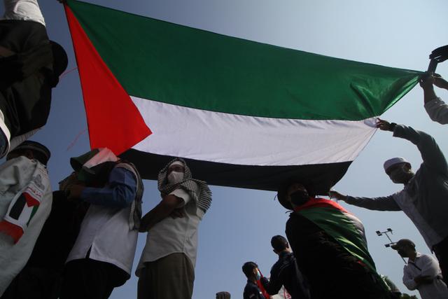 Viral Warga Depok Pasang Bendera Palestina, Polisi Turun Tangan (71104)