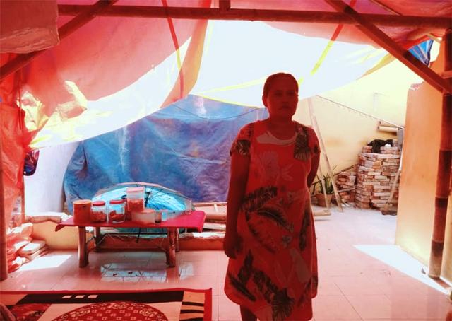 Kisah Pilu Korban Gempa Malang, Terima Tamu Hari Raya di Bawah Tenda Darurat  (444584)