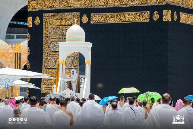 Penerobos Mimbar Khatib di Masjidil Haram Mengaku Imam Mahdi (328094)