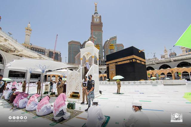 Pria Penerobos Mimbar Khatib di Masjidil Haram Bawa Senjata (442533)