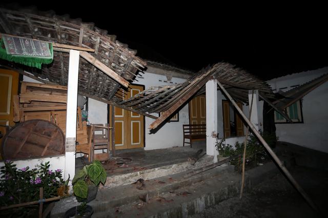 Foto: Kerusakan Imbas Gempa 5,9 Magnitudo di Blitar (8377)