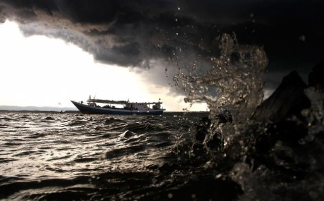Kapal Kayu dari Jambi Tujuan Dabo Singkep Tenggelam, Diduga Pecah Dihantam Ombak (344288)