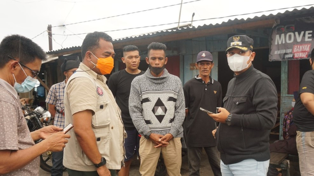 Korban Selamat KM Wicly Jaya Sakti Dievakuasi ke Dabo Singkep (403151)