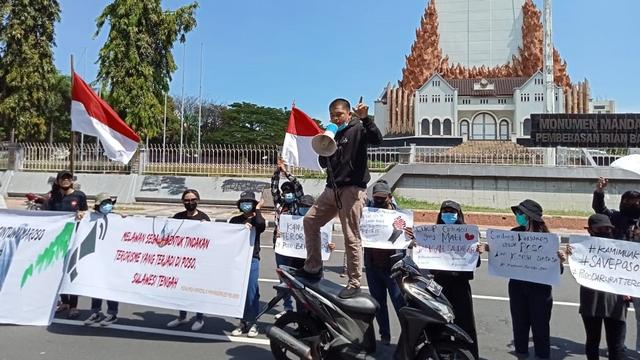 Pemuda Poso di Makassar Tuntut Persoalan Teroris MIT Dituntaskan (326221)