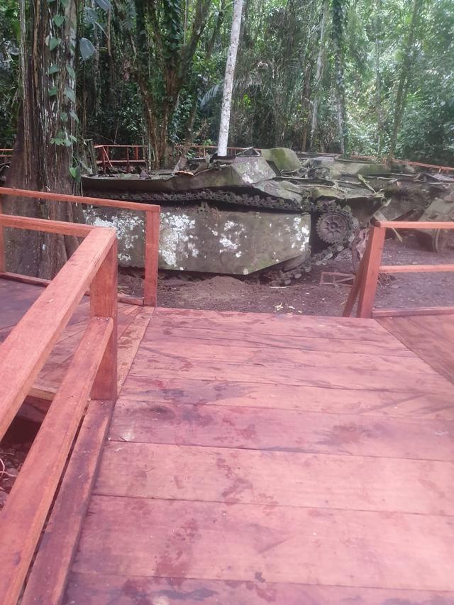 Akses Jalan Masuk ke Tank Perang Dunia II di Tambrauw sudah Dibangun (879027)