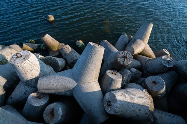 Breakwater Dermaga Hiri, Ternate, Akan Pakai Konstruksi Tetrapod (29980)