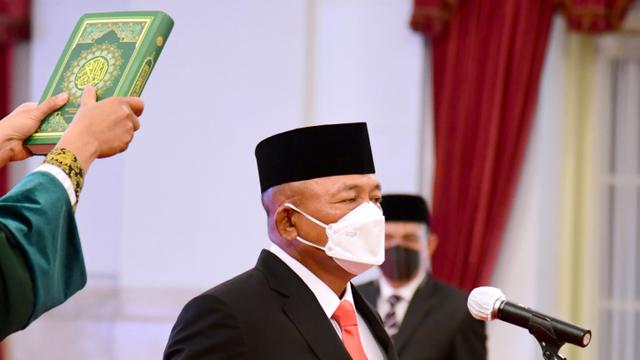 Foto: Kepala BNPB Baru, Letjen Ganip Warsito  (6232)