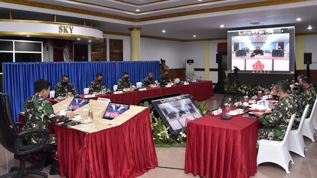 Panglima TNI: Sekat dan Isolasi WNI-WNA dari Luar Negeri di Dumai dan Cilacap (21599)