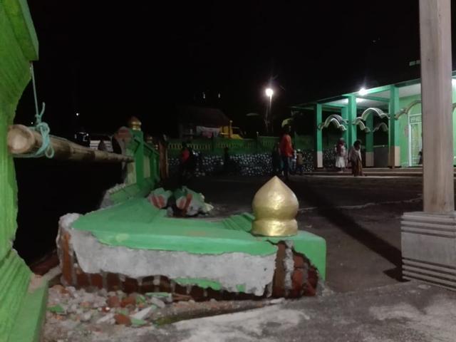 Masjid Sabilul Huda di Desa Srimulyo Minim Bantuan Pasca-Gempa Malang (20545)