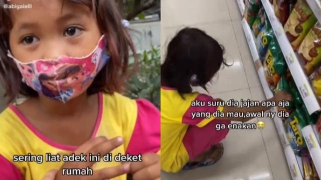 Gadis Kecil Pemulung Cuma Mau Air Minum Saat Diajak ke Minimarket, Kisahnya Haru (108916)