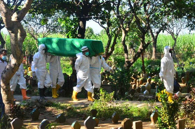 Kematian Corona di Indonesia 27 Juli Tembus 2 Ribu Orang, Jateng Tertinggi (12591)